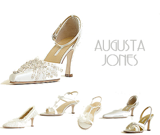 Augusta Jones Wedding Shoes including Ocean, Summer, Parisienne, Classic, Reflections, Bruxelles, Mauritius and Spring