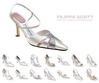 Bridal & Evening Shoes - London Collection - Beautiful Shoes for the Bride on her Wedding Day - Shop online for quality accessories