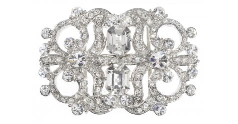 Hayworth Buckle - Bridal / Evening Wear - Couture Jewellery Collection from the Wedding Accessory Boutique