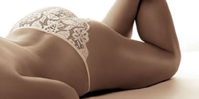 Honeymoons Lingerie - Sarina Briefs - Beautiful lingerie for the Bride on her Wedding day and to look stunning on her honeymoon -  code:- Cleveland