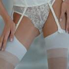 Bridal Lingerie Set 9 - Beautiful Italian Designer Bridal Lingerie - Available from online shop of The Wedding Accessory Boutique - Bridal Lingerie Set 9 includes Corsets, Briefs & String Briefs