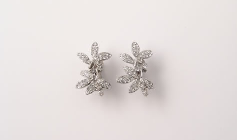 Chantilly Earrings - Bridal / Evening Wear - Couture Jewellery Collection from the Wedding Accessory Boutique