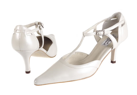 Evelyn - Wedding Shoes & Evening Shoes Limited Edition Collection by Stephanie Clelland - Shoe Boutique for Brides