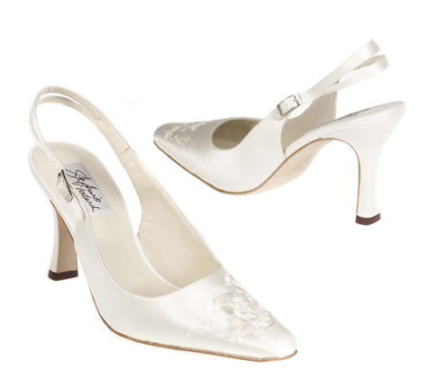 Lois - Wedding Shoes & Evening Shoes Limited Edition Collection by Stephanie Clelland - Shoe Boutique for Brides
